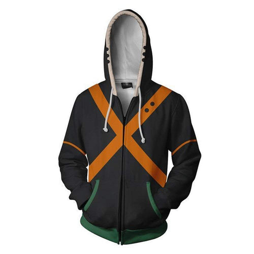 Boku No Hero Academia My Hero Academia Hoodie - Orange
