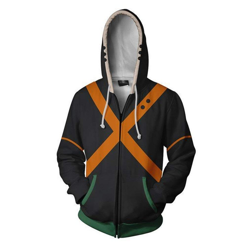 Boku No Hero Academia My Hero Academia Hoodie - Orange - Aesthetic Cosplay, LLC