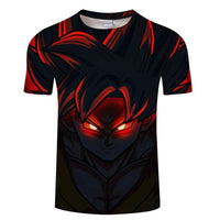 Goku Dragon Ball Z DBZ Compression T-Shirt Super Saiyan - 10 - Aesthetic Cosplay, LLC