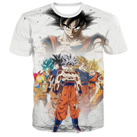 Goku Dragon Ball Z DBZ Compression T-Shirt Super Saiyan - 28 - Aesthetic Cosplay, LLC
