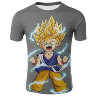 Goku Dragon Ball Z DBZ Compression T-Shirt Super Saiyan - 23 - Aesthetic Cosplay, LLC