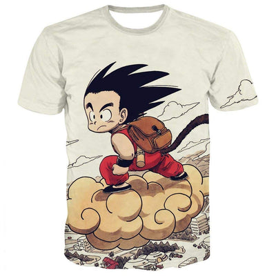 Goku Dragon Ball Z DBZ Compression T-Shirt Super Saiyan - 1 - Aesthetic Cosplay, LLC