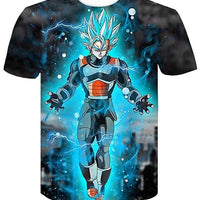 Goku Dragon Ball Z DBZ Compression T-Shirt Super Saiyan - 6 - Aesthetic Cosplay, LLC