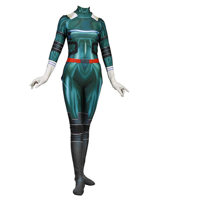 My Hero Academia Female Deku Cosplay Suit - Aesthetic Cosplay, LLC