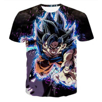 Goku Dragon Ball Z DBZ Compression T-Shirt Super Saiyan - 26 - Aesthetic Cosplay, LLC