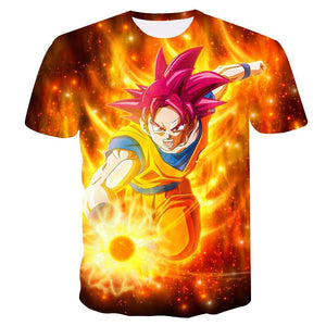 Goku Dragon Ball Z DBZ Compression T-Shirt Super Saiyan - 15 - Aesthetic Cosplay, LLC
