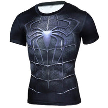 Superhero Compression T-Shirts - Men's Crew Neck - Spider-Man 3 - Aesthetic Cosplay, LLC