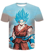 Goku Dragon Ball Z DBZ Compression T-Shirt Super Saiyan - 2 - Aesthetic Cosplay, LLC