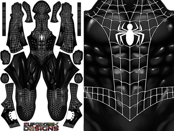 Comic Symbiote Spider-Man - Aesthetic Cosplay, Inc.