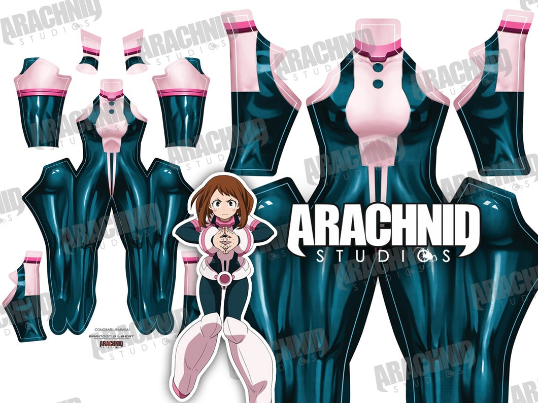 Uraraka V2 - No Belt No Wristgaurds - Aesthetic Cosplay, Inc.