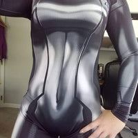 Zero Suit Samus - Black Suit - Aesthetic Cosplay, LLC