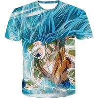 Goku Dragon Ball Z DBZ Compression T-Shirt Super Saiyan - 5 - Aesthetic Cosplay, LLC