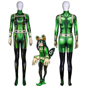 My Hero Academia Froppy Cosplay Suit - Aesthetic Cosplay, LLC