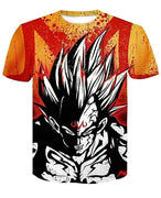 Goku Dragon Ball Z DBZ Compression T-Shirt Super Saiyan - 7 - Aesthetic Cosplay, LLC