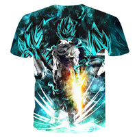 Goku Dragon Ball Z DBZ Compression T-Shirt Super Saiyan - 16 - Aesthetic Cosplay, LLC