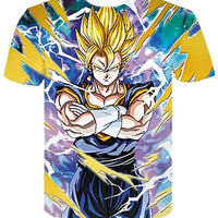 Goku Dragon Ball Z DBZ Compression T-Shirt Super Saiyan - 3 - Aesthetic Cosplay, LLC