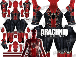 Iron Spider Homecoming Spider-Man - Female - Aesthetic Cosplay, LLC
