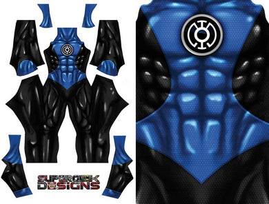Blue Lantern (No Boots/Gloves) - Aesthetic Cosplay, Inc.