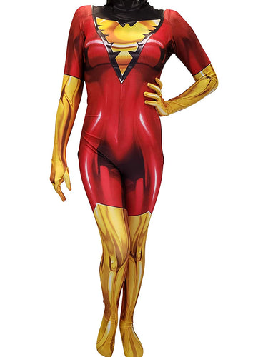 Dark Phoenix Suit - Aesthetic Cosplay, LLC