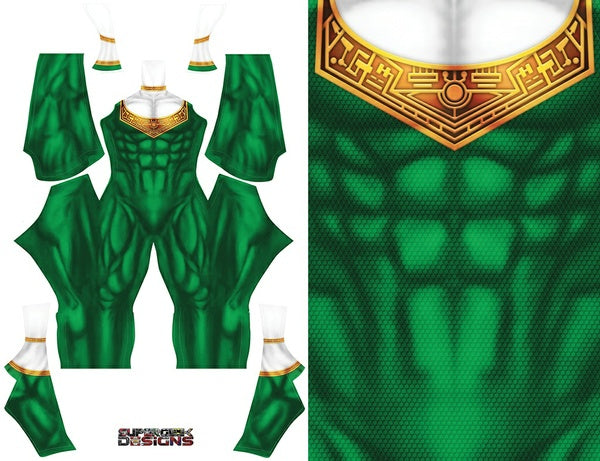 Green Zeo Ranger - Aesthetic Cosplay, Inc.