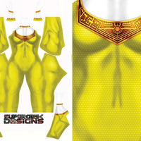 Yellow Zeo Ranger - Aesthetic Cosplay, LLC