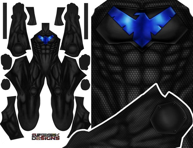 Nightwing Armoured - Aesthetic Cosplay, LLC