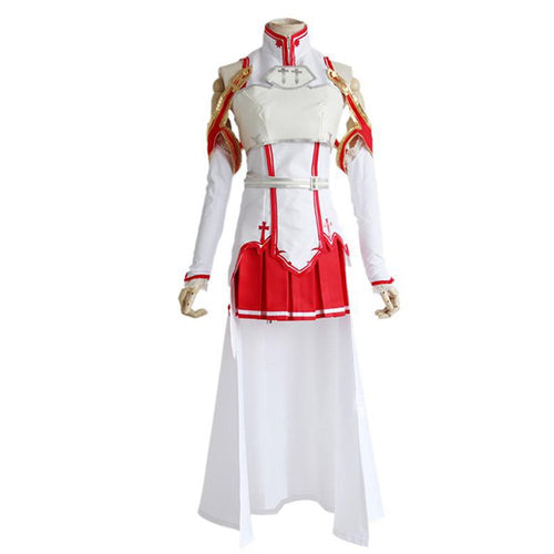 Sword Art Online Asuna Yuuki Cosplay Costume - Aesthetic Cosplay, LLC