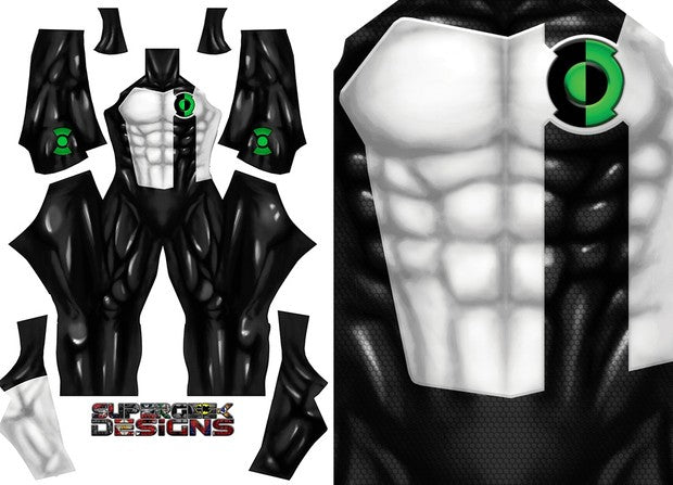 Kyle Rayner Green Lantern (Shiny Version) - Aesthetic Cosplay, LLC