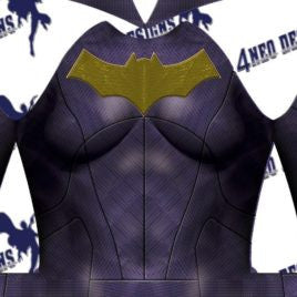 Justice League Movie - Batgirl V1 With Emblem - Aesthetic Cosplay, Inc.