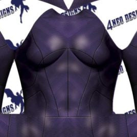 Justice League Movie - Batgirl V2 No Emblem - Aesthetic Cosplay, Inc.