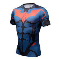 Superhero Compression T-Shirts - Men's Crew Neck - Batman Beyond - Aesthetic Cosplay, LLC