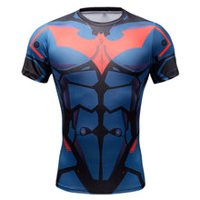 Superhero Compression T-Shirts - Men's Crew Neck - Batman Beyond