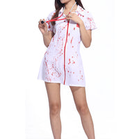Bloody Nurse Costume - Aesthetic Cosplay, LLC