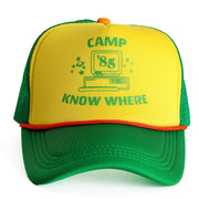 Stranger Things 3 Camp Know Where Adjustable Cap - Aesthetic Cosplay, LLC