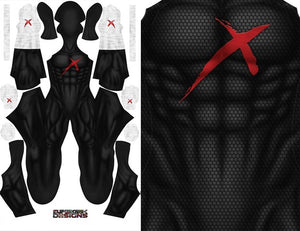 Red X (White Gloves) - Aesthetic Cosplay, LLC