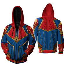 Captain Marvel Hoodie - Aesthetic Cosplay, LLC