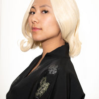 Short Blonde Lace-Front Wig - Aesthetic Cosplay, LLC