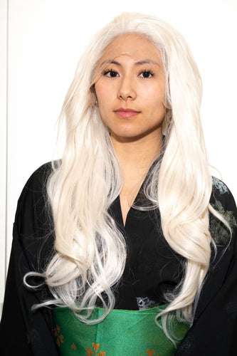 Long Blonde Lace-Front Wig - Aesthetic Cosplay, LLC
