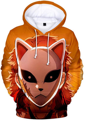 Demon Slayer Hoodie 2 - Aesthetic Cosplay, LLC