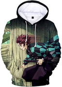 Demon Slayer Hoodie 4 - Aesthetic Cosplay, LLC