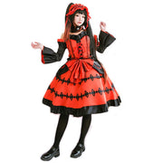 Date A Live Tokisaki Kurumi Astral Dress Cosplay Costume - Aesthetic Cosplay, LLC
