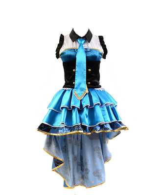 Love Live! UR Cards Eli Ayase Job Outfit Cosplay Costume - Aesthetic Cosplay, LLC