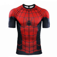 Superhero Compression T-Shirts - Men's Crew Neck - Spider-Man Far From Home - Aesthetic Cosplay, LLC