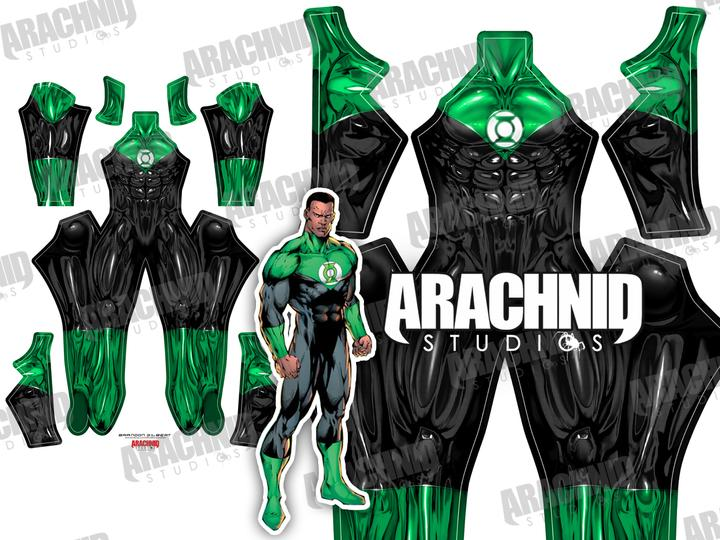 Green Lantern - John Stewart - Aesthetic Cosplay, LLC
