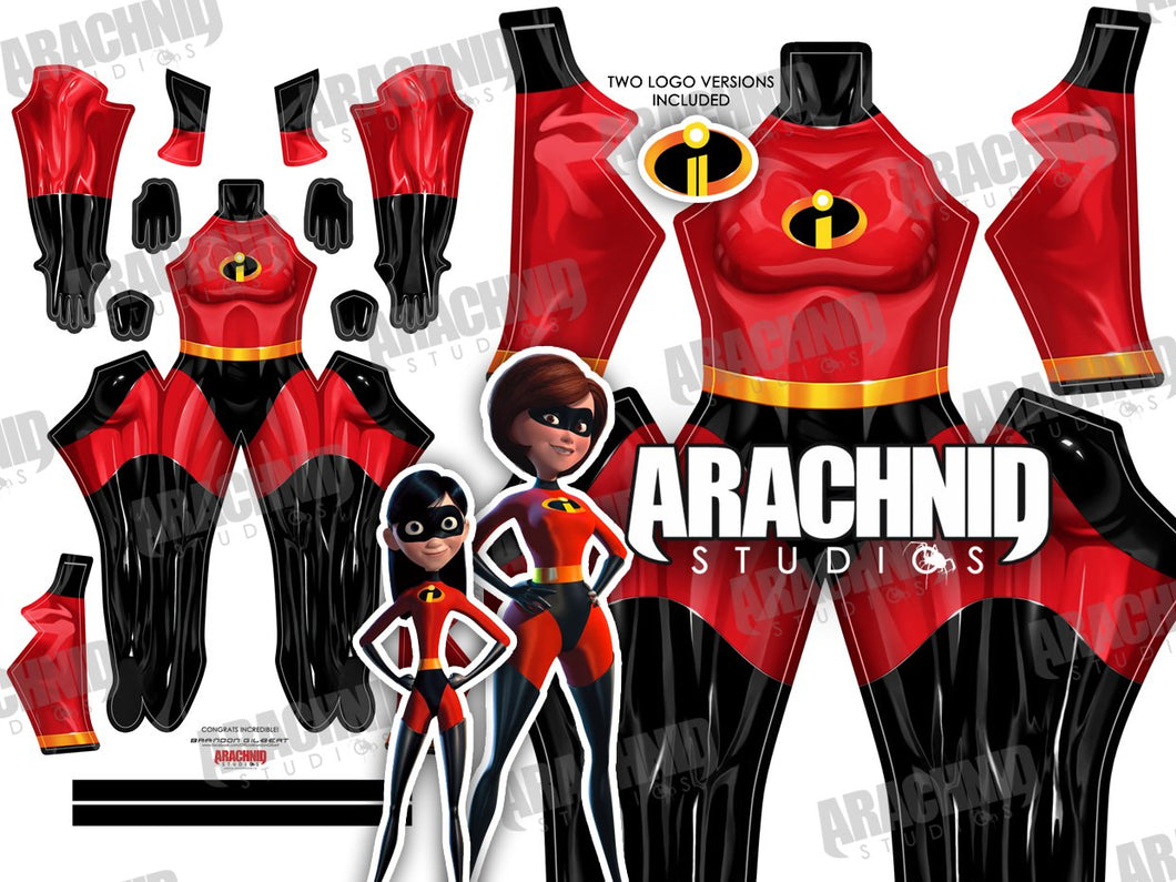 The Incredibles (Female) - Aesthetic Cosplay, Inc.