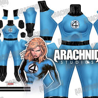 Invisible Woman - Susan Storm - Aesthetic Cosplay, LLC