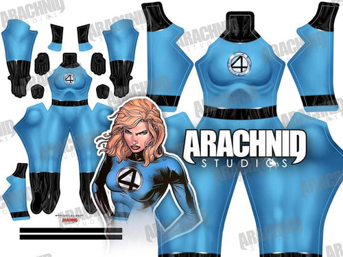 Invisible Woman - Susan Storm - Aesthetic Cosplay, Inc.