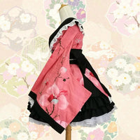 Pink Kimono Lolita Dress - Aesthetic Cosplay, LLC