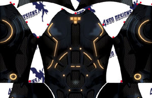 Tron Rinzler Female V1 - Aesthetic Cosplay, LLC
