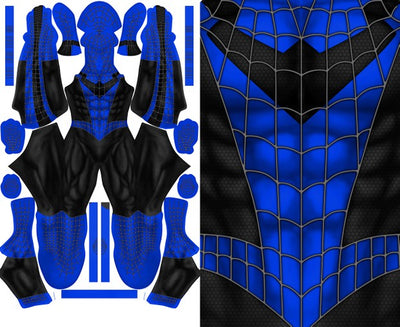 Spider-Man NIGHTWING Mash-Up - Aesthetic Cosplay, LLC